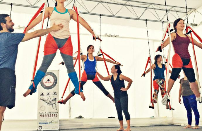 Formación Yoga Aéreo, Nuevo, Divertido, Emocionante