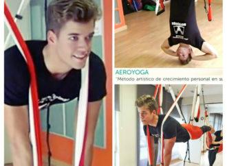 AeroYoga ® y AeroPilates ® en Prensa y TV, Nuevas Tendencias Yoga Aéreo