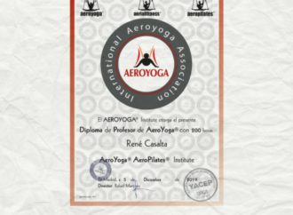 Tendencias Yoga Aéreo, Te Presentamos Nuestro Diploma Formación Profesores AeroYoga ®