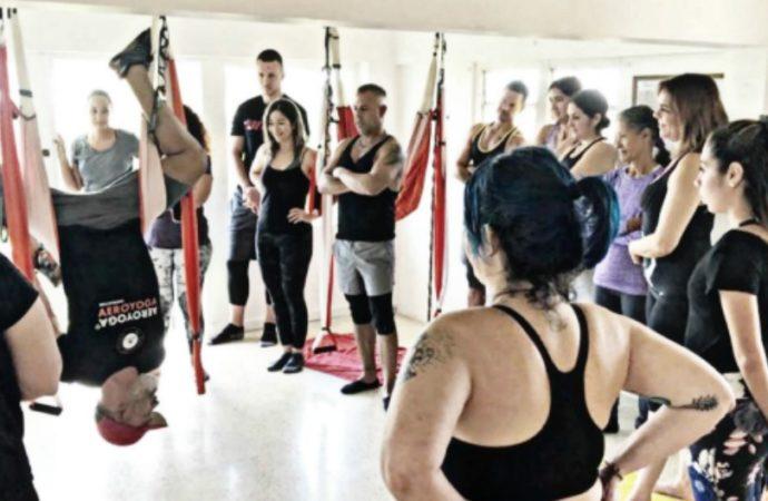 Formación Yoga Aéreo, AeroYoga® Institute Contra el Bullying