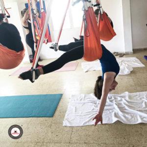 formación yoga aéreo retiro