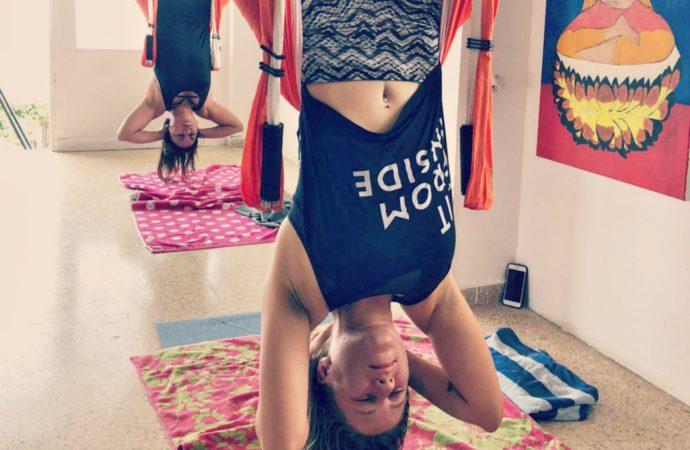 Ya Puedes Practicar el Yoga Aéreo en la Casa de la Ceiba, Puerto Rico, AeroYoga® Institute