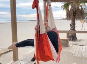 clases yoga aéreo a distancia