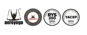 logo aeroyoga yoga éreo yoga alliance yacep