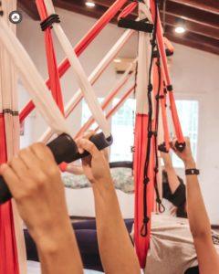 cursos yoga aéreo