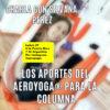 Yoga Aéreo Online, En Directo! 27 Abril,  Charla con Silvana Pérez Vieyto, Los Aportes del AeroYoga ® para la Columna