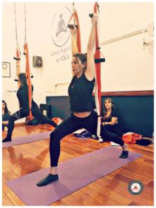 cursos yoga aéreo online chile