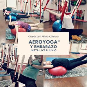 aero yoga y embarazo