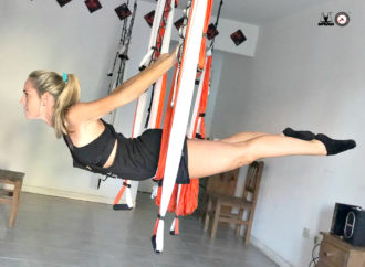 Una Nueva Clase de Fitness Aéreo con Soledad Rivara y la IFYP , Cursos de AeroYoga ®