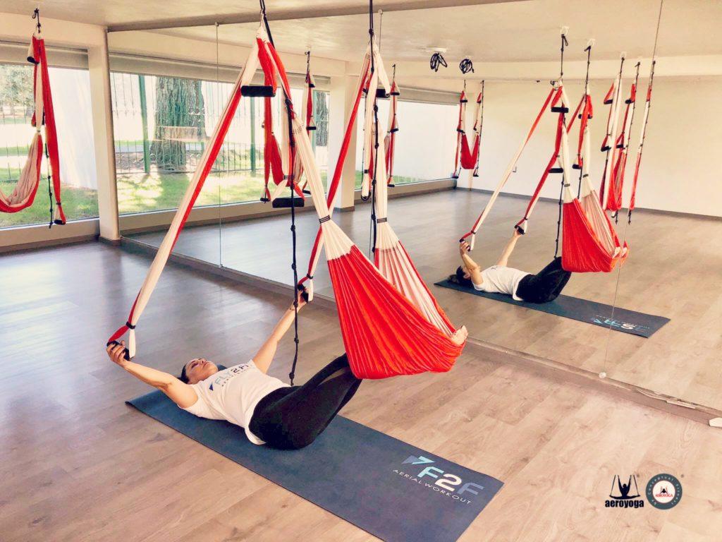 yoga aéreo méxico