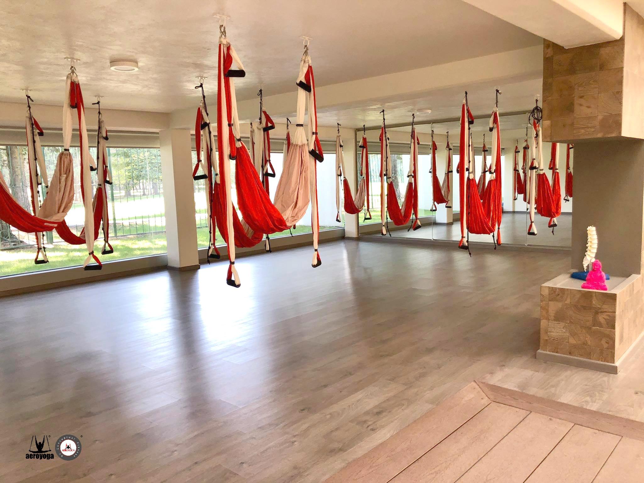studio yoga aéreo