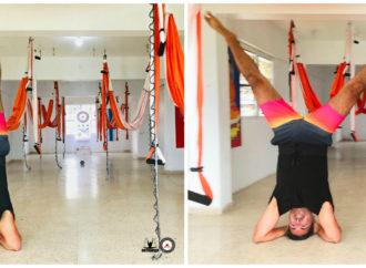 Yoga Creativo: Clase de Yoga Aéreo  y Ayurveda en la Casa de la Ceiba, AeroYoga ® Institute Puerto Rico
