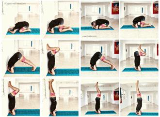 Beneficios Sirsasana con Yoga Creativo, Ejercicio Paso a Paso en Imágenes con Rafael Martínez