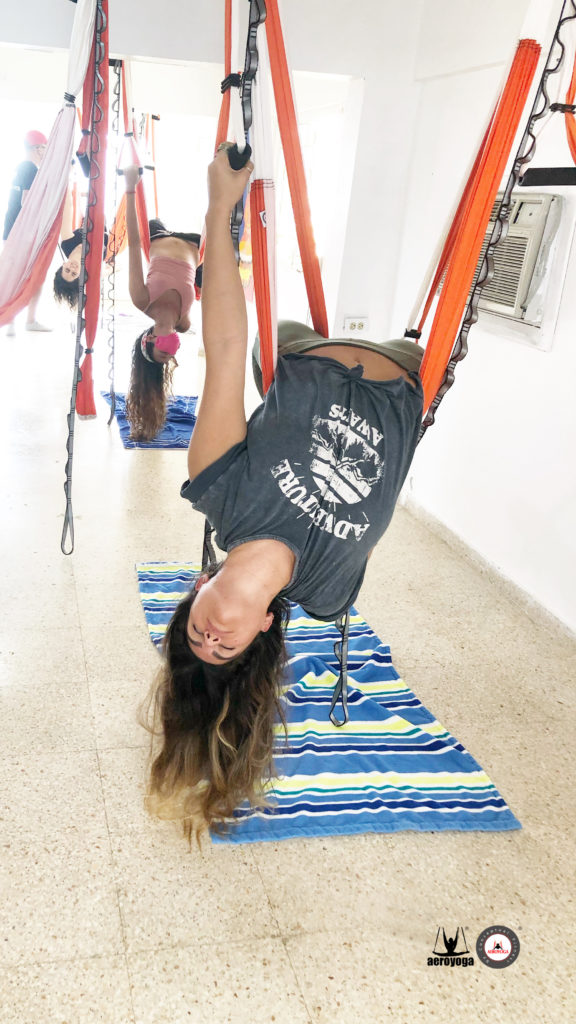 clases yoga aéreo