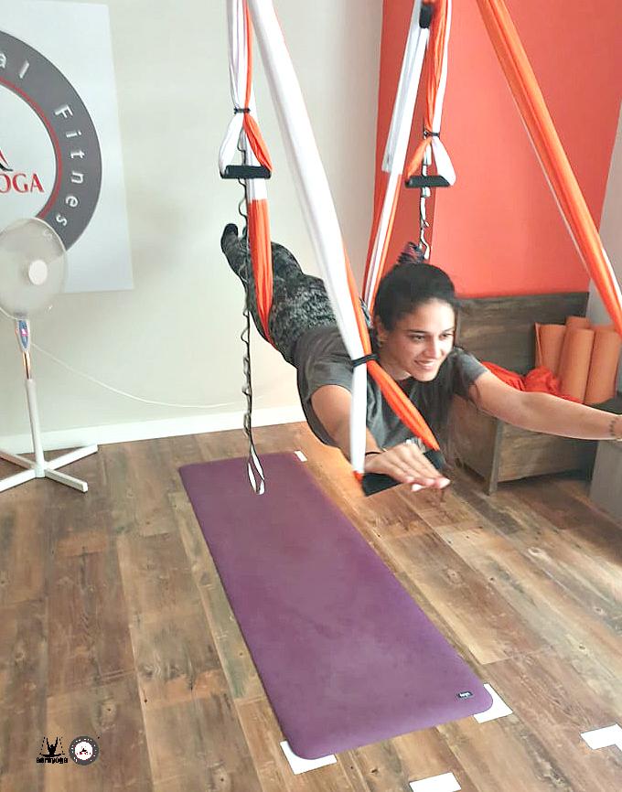 formación yoga aereo