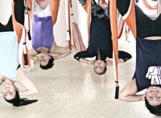 Formación Yoga Aéreo, Los Beneficios del AeroYoga ® Para la Columna Vertebral