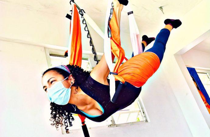 Yoga Aéreo Puerto Rico, Descubre el AeroYoga ® Acrobático, Clases de Acro Yoga Aérea en Trapecio