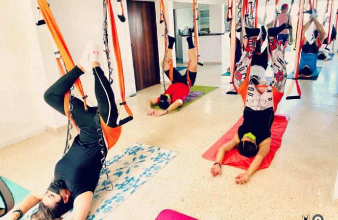 Yoga Aérea Puerto Rico, Beneficios, Descubre las Nuevas Clases de AeroYoga ® en Trapecio en la Casa de la Ceiba
