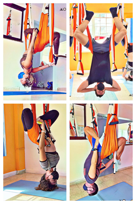 yoga aéreo retreat