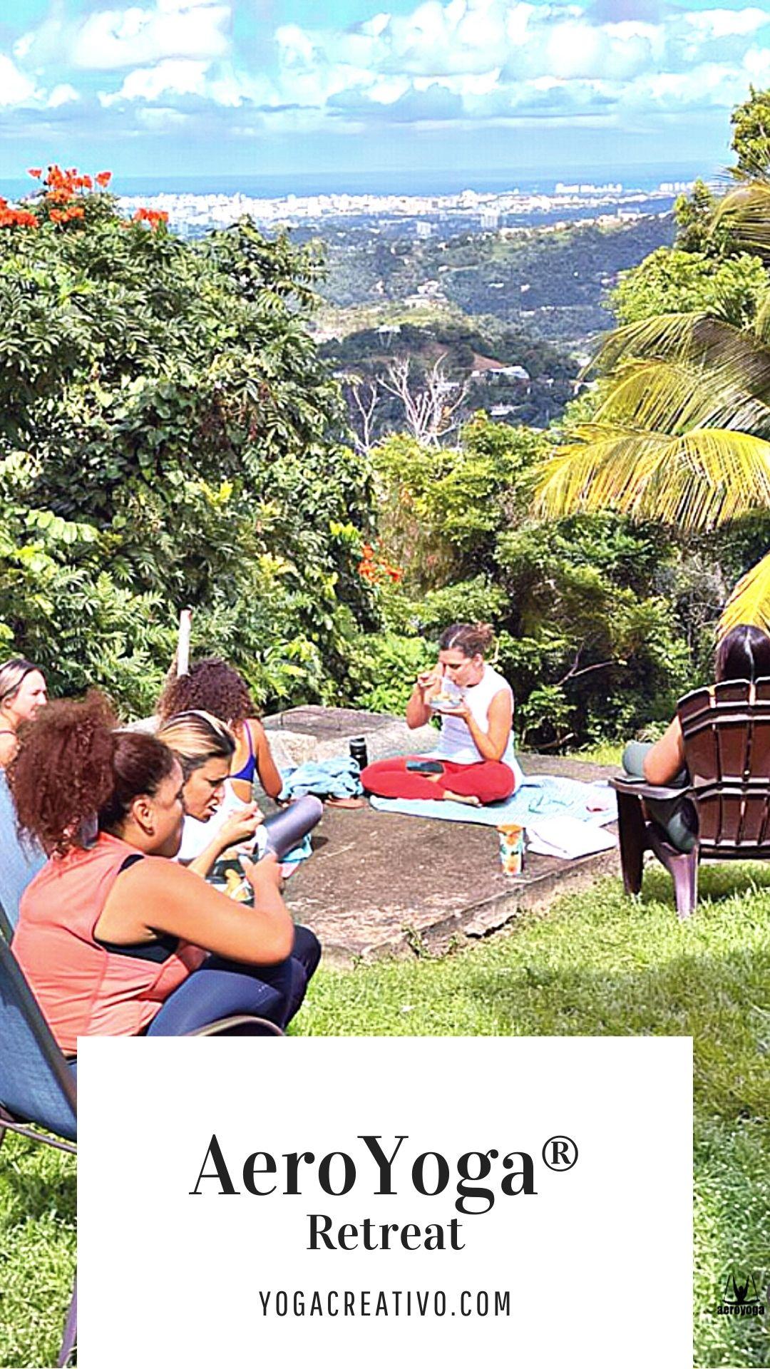 aerial yoga retreat puerto rico