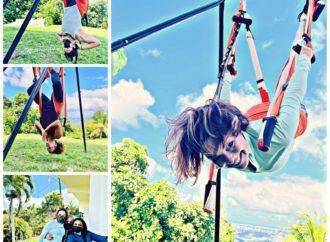 Yoga Aéreo Puerto Rico, Primer Taller del Año de AeroYoga ® en  Casa de la Ceiba, Wellness y Bienestar en Trapecio