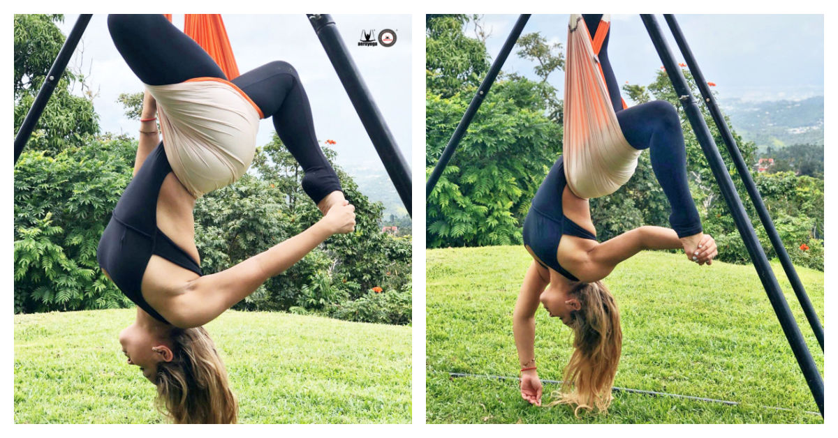 retiro yoga aéreo