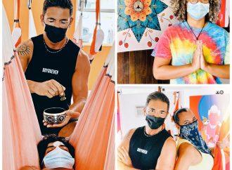 Yoga Puerto Rico, Te Invito a las Clases de AeroYoga ® Aéreo con Rafael Martínez, Viernes, Sábados y Domingos