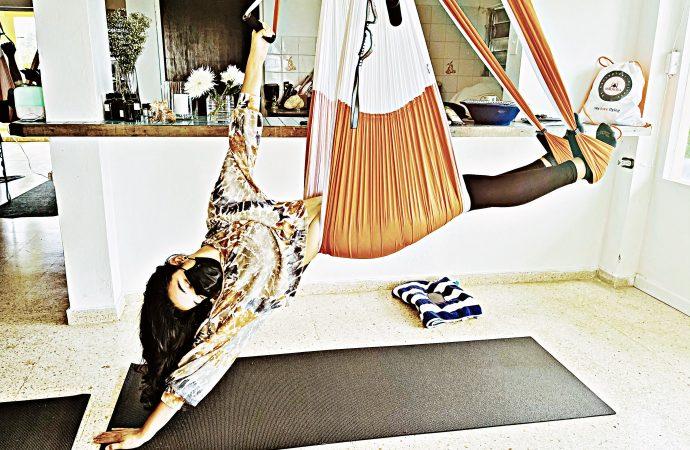 Yoga Puerto Rico! 2 Beneficios Más del AeroYoga ®: Mejorar el Sueño y Bajar de Peso!