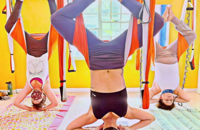 Certificación Yoga Puerto Rico, Formación Profesores AeroYoga ®: Método Aéreo en Columpio y Trapeze!