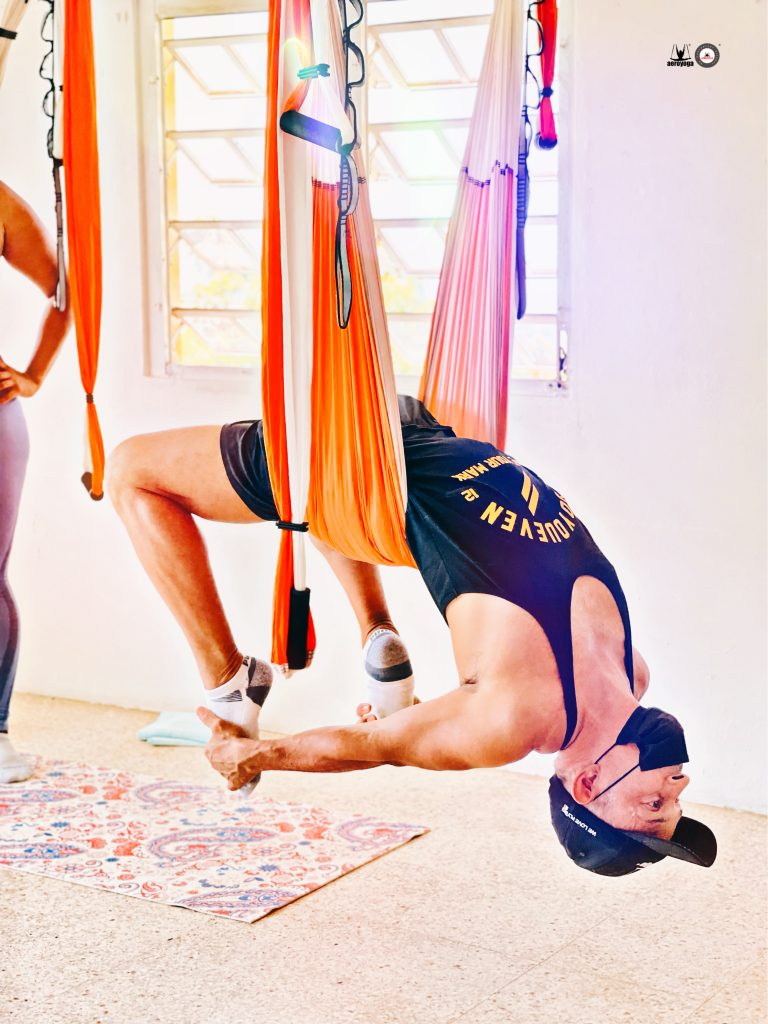 aerial yoga retreat