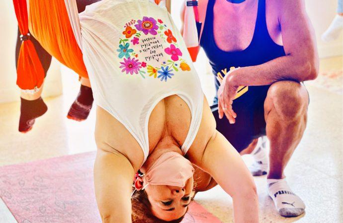 Yoga Retreat Puerto Rico, 4 Hours of AeroYoga ® for Wellness (Aerial Yoga Mini Retreat)