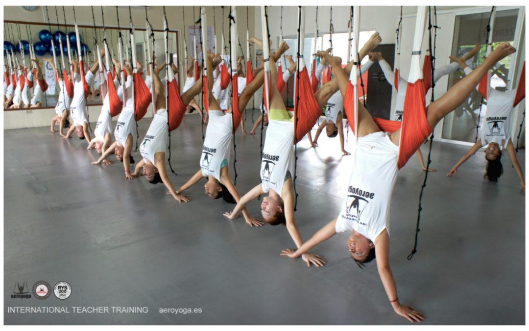 Yoga Aéreo: Beneficios Salud del Método AeroYoga ®