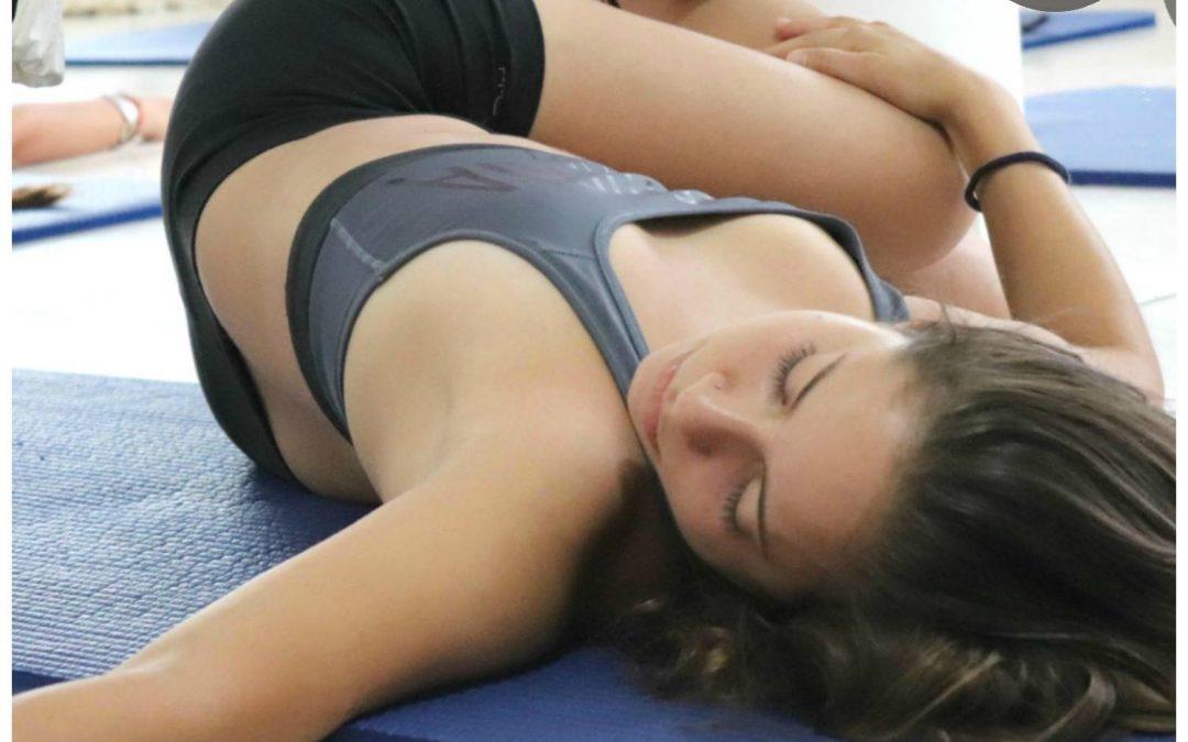 Fisioterapia y yoga con Aeroyoga
